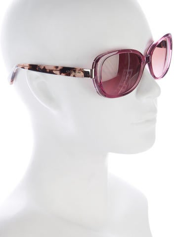 Tortoiseshell Tinted Sunglasses
