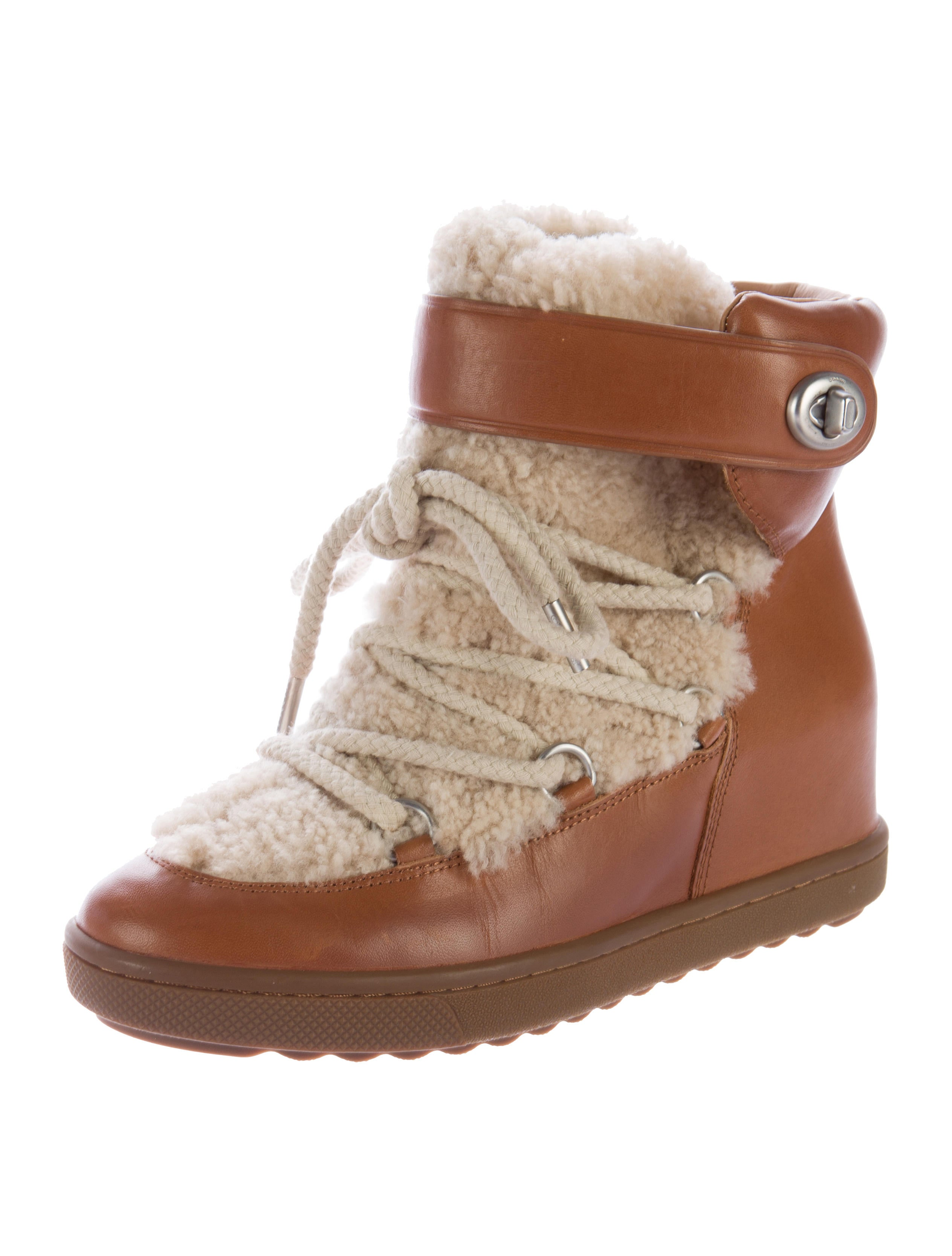 Monroe Shearling Ankle Boots