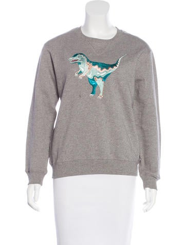 Coach Rexy Embroidered Sweatshirt None