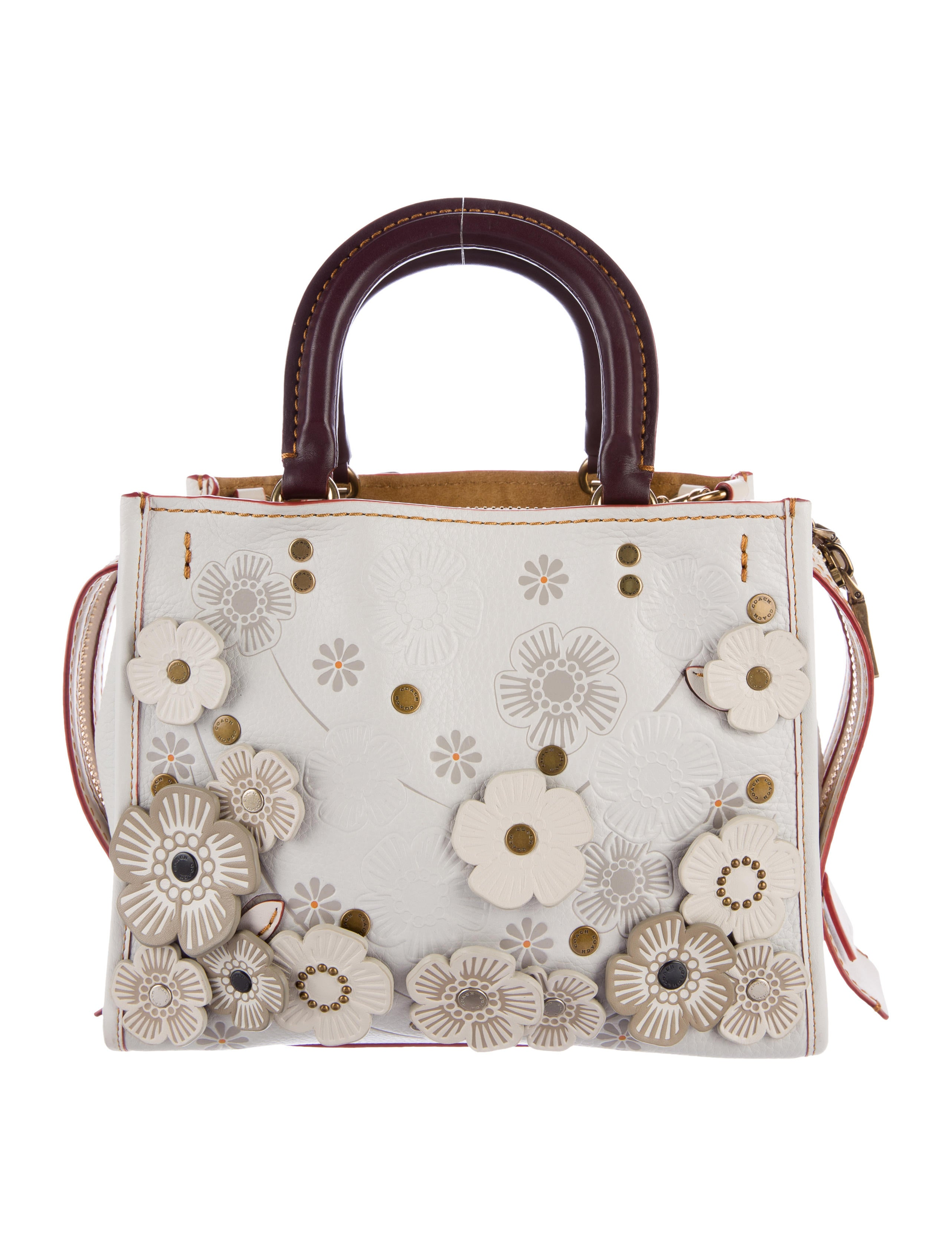 Coach Tea Rose Rogue 25 Handbags Cch20791 The Realreal