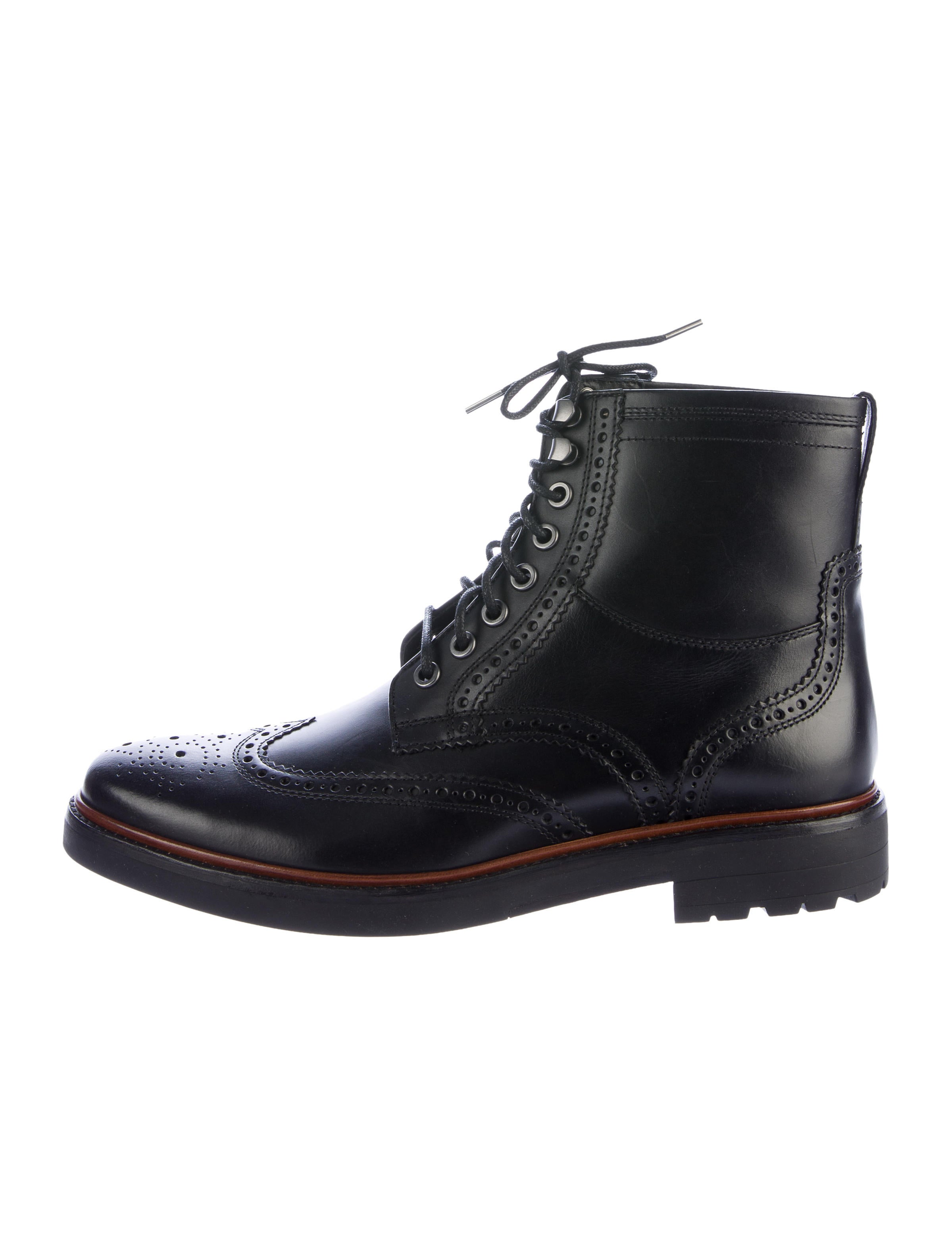 coach wingtip ankle boots w tags shoes cch20804 the