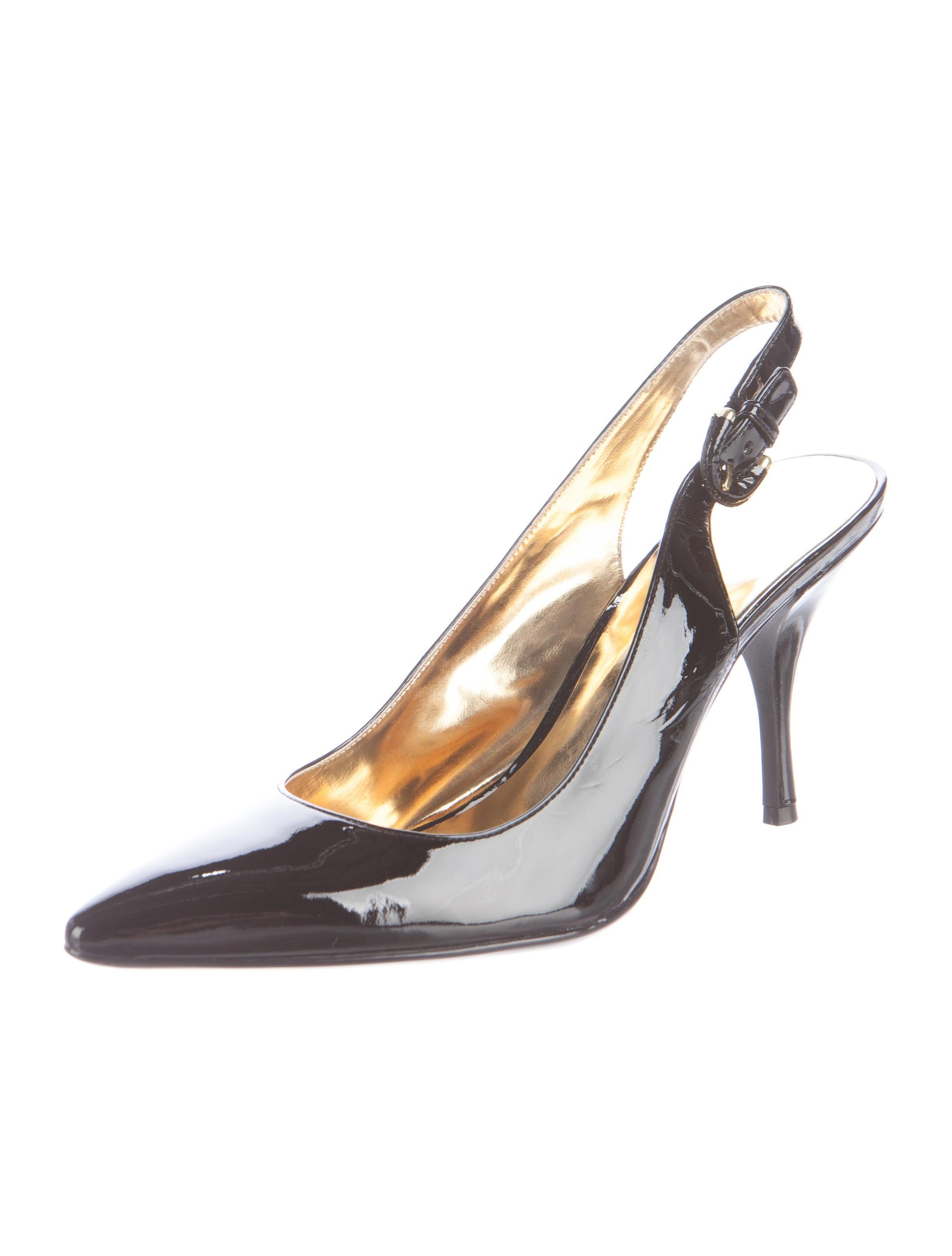 Coach Patent Leather Slingback Pumps - Shoes - CCH20840 ...