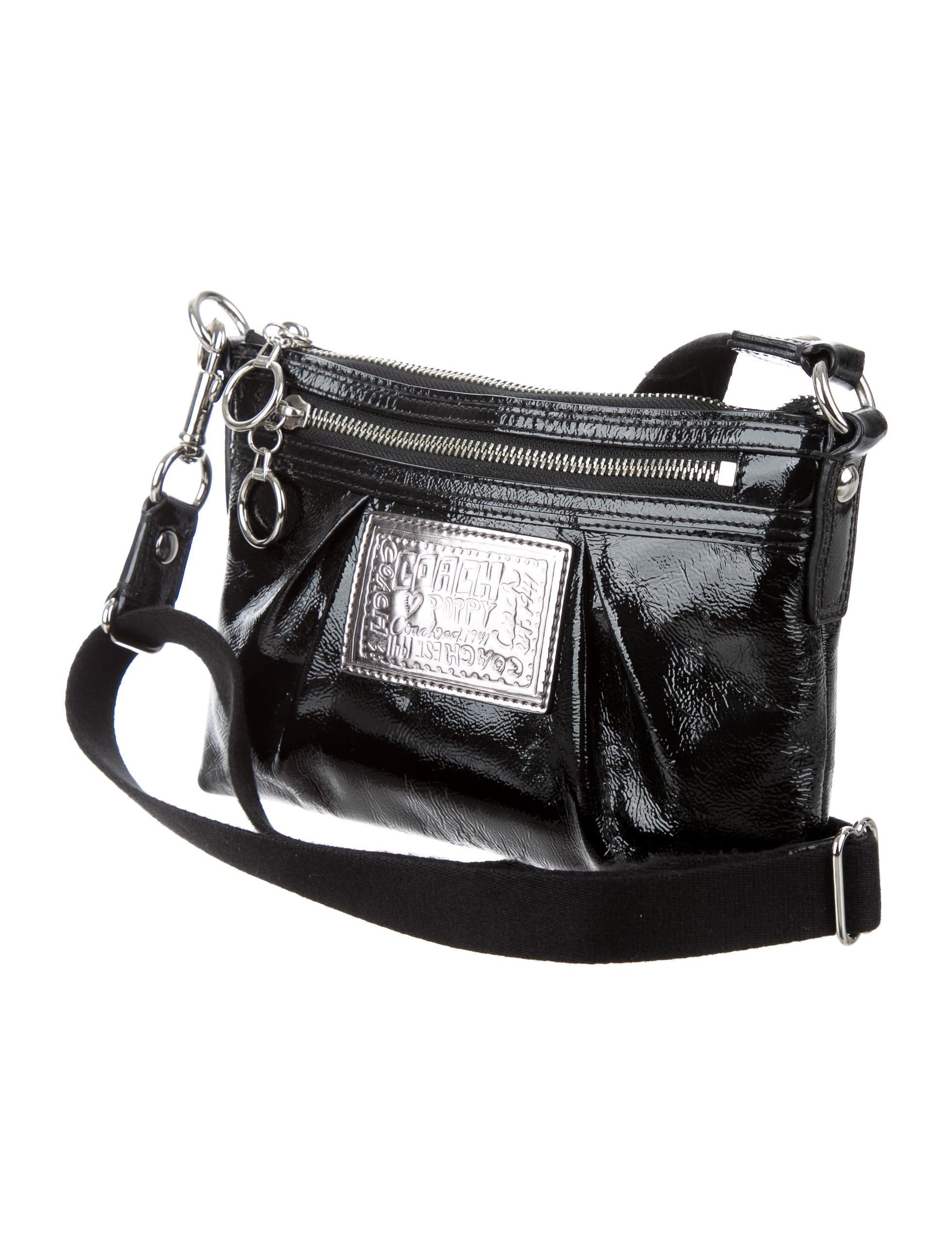 Black Patent Leather Coach Purse Iucn