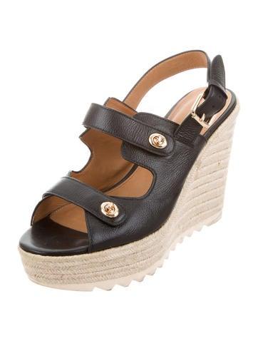 coach espadrille platform wedges shoes cch21203 the