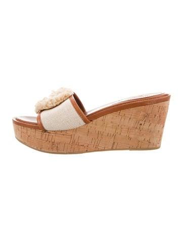 Coach Platform Slide Sandals None