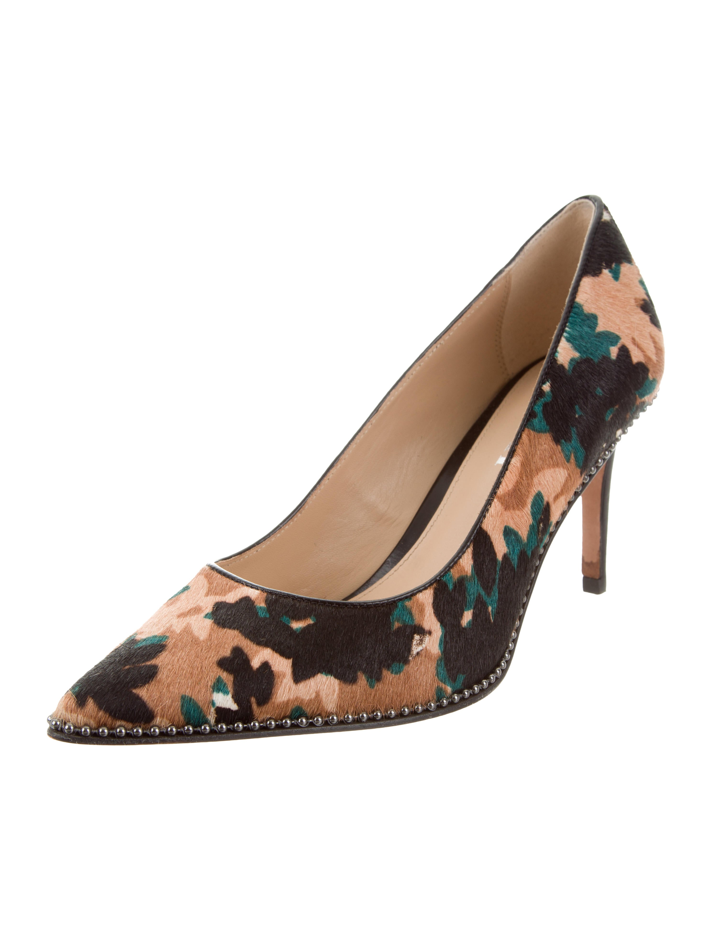 buy cheap choice shipping discount authentic Coach Printed Ponyhair Pumps outlet pay with visa clearance under $60 tsdCiWH1kK