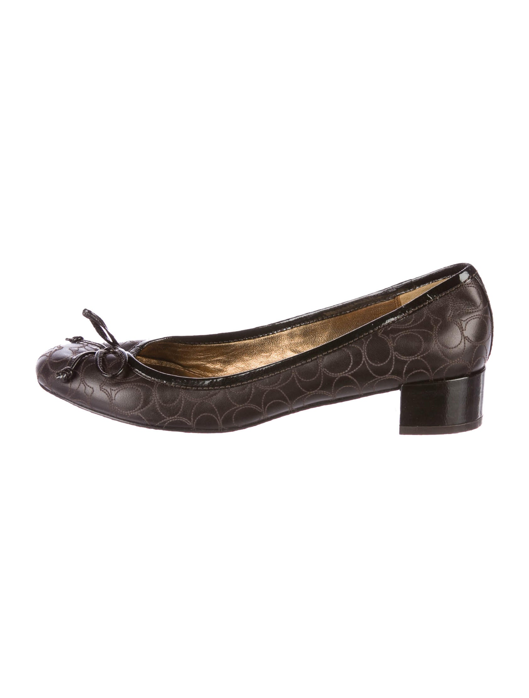 Coach Odette Embroidered Pumps buy cheap with credit card yTn6M