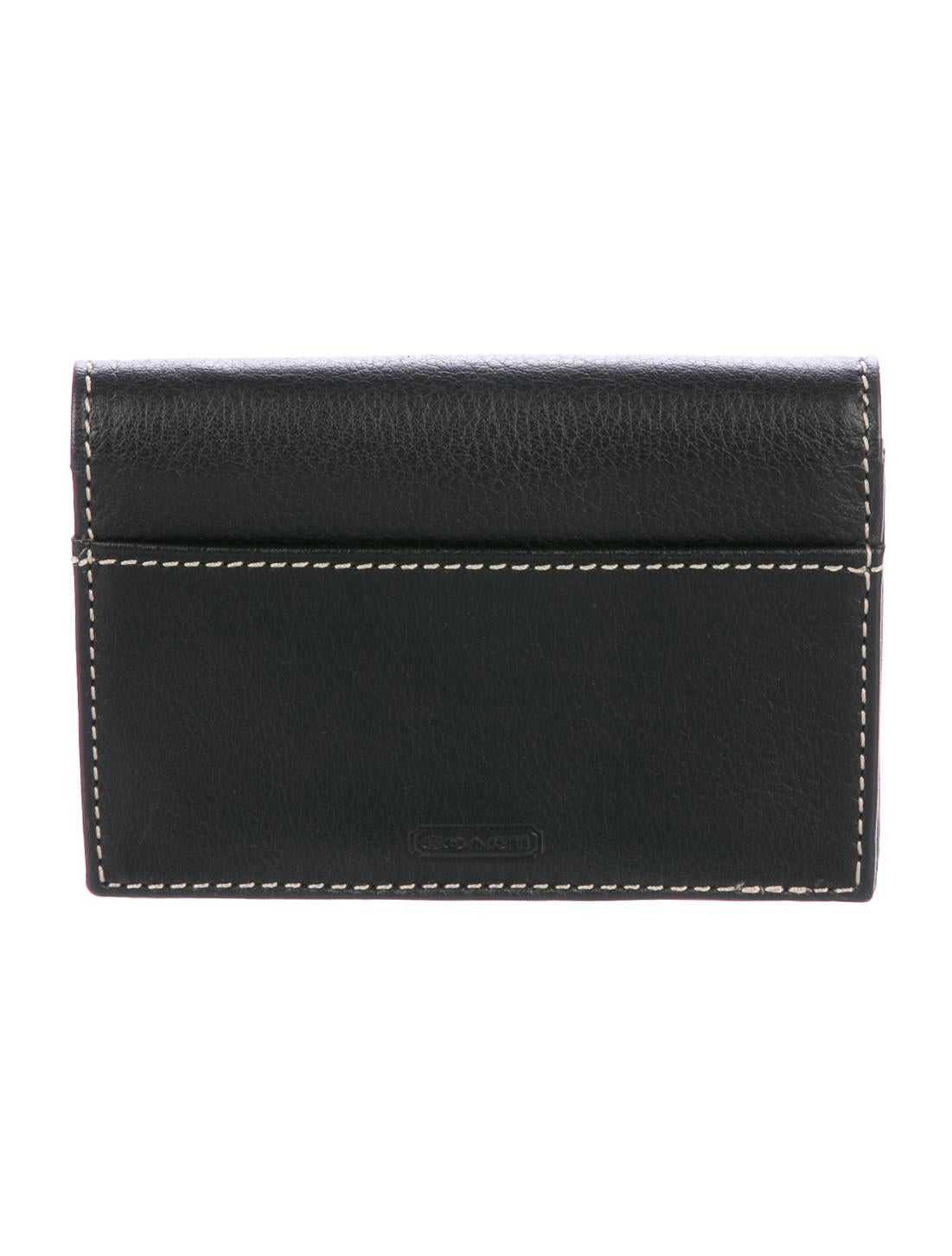 Coach grained leather business card holder w tags accessories grained leather business card holder w tags colourmoves