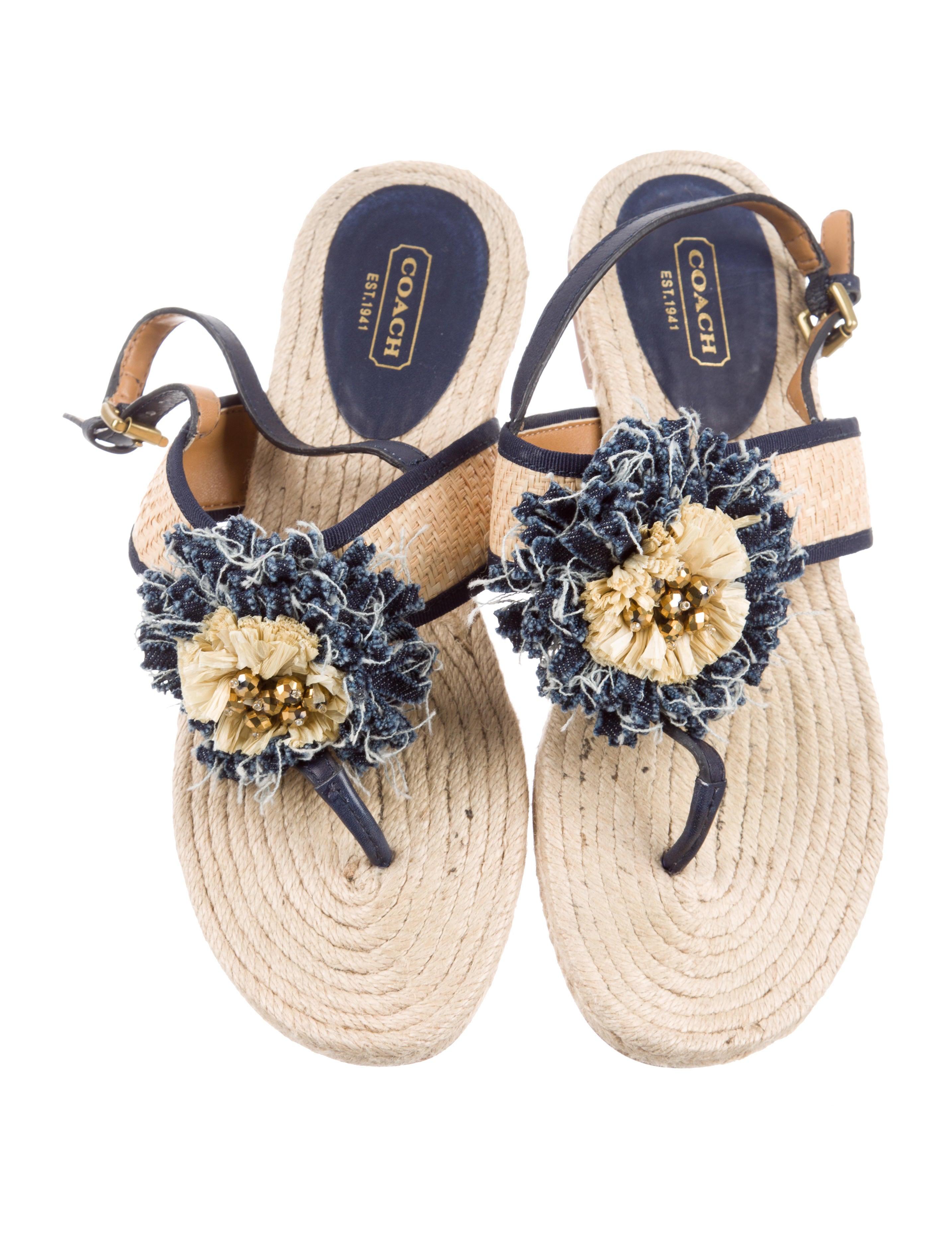 Coach Tegan Slingback Sandals Shoes CCH