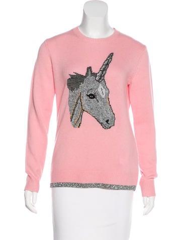 Coach Unicorn Intarsia Sweater w/ Tags None