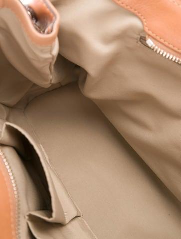 Bicolor Leather Tote