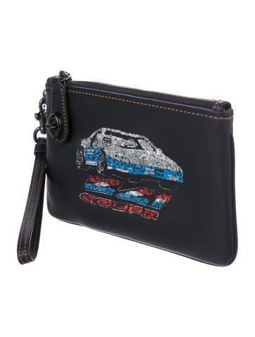Leather Car Wristlet w/ Tags