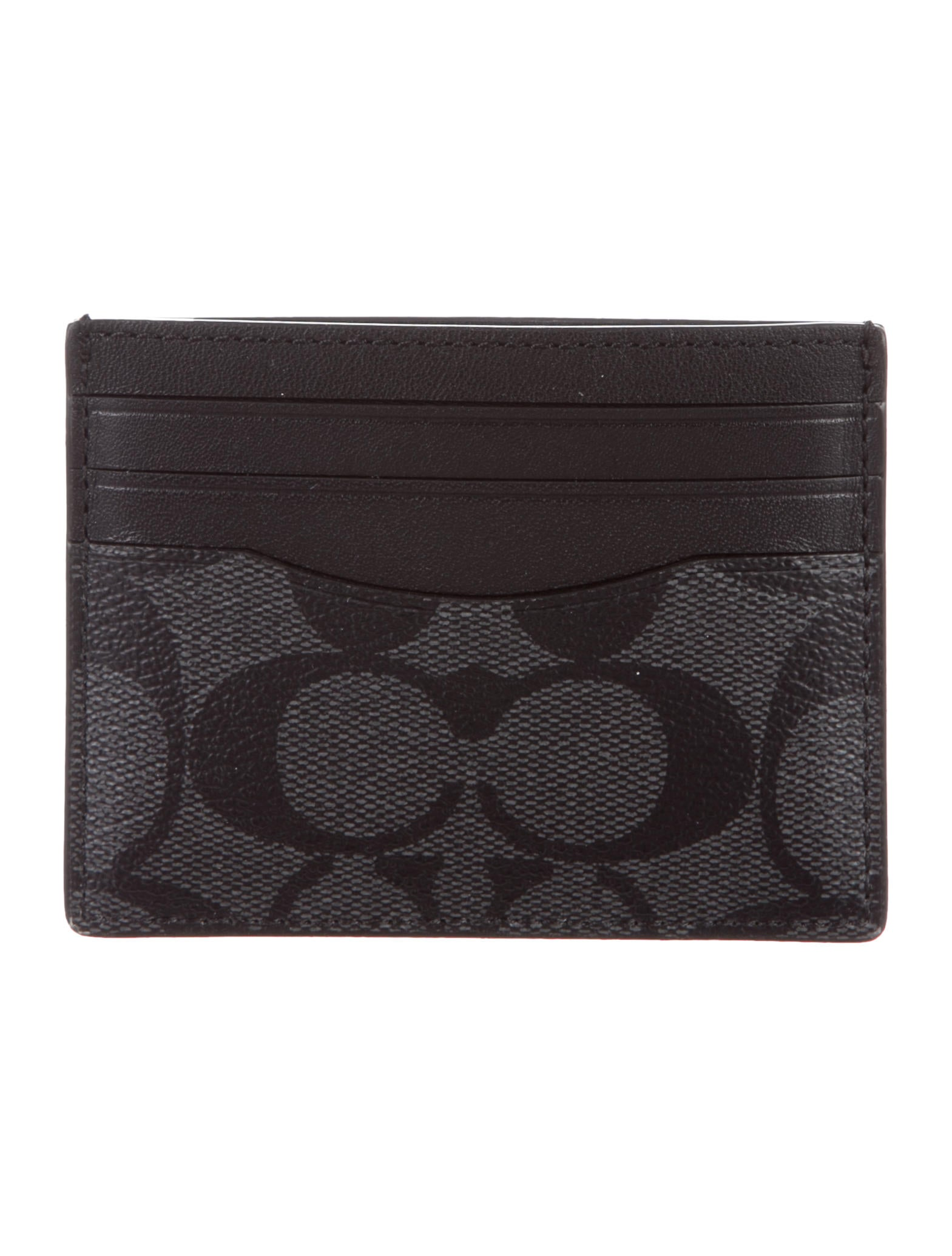 Coach Monogram-Trimmed Card Holder - Accessories - CCH24201 | The ...
