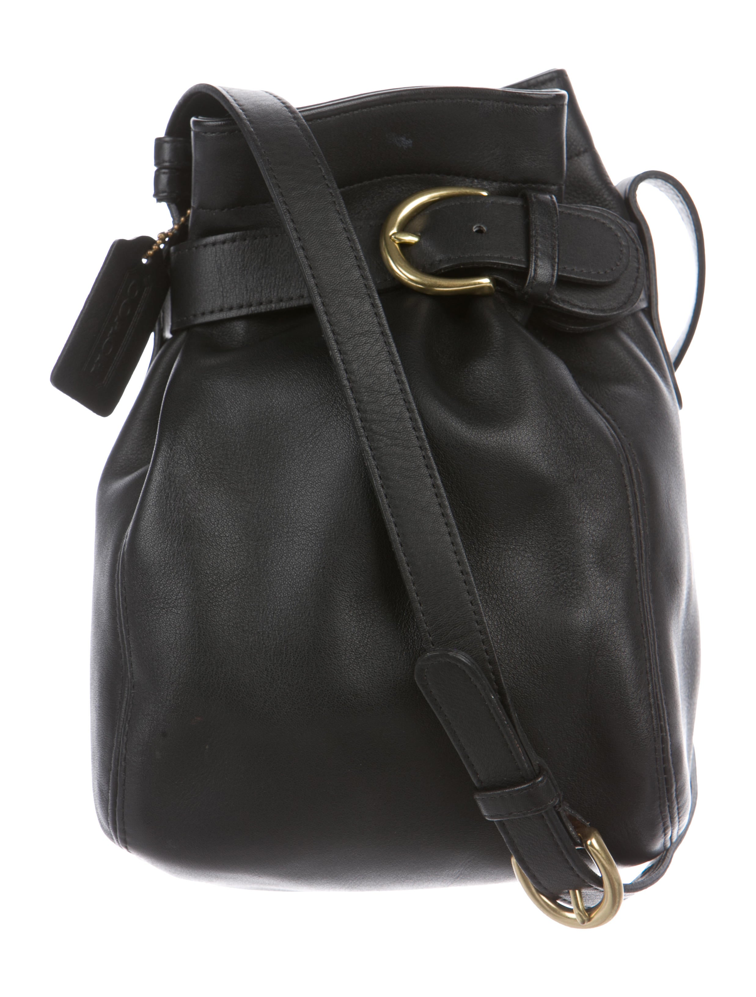 65ace328b86f Coach Belted Leather Bucket Bag - Handbags - CCH24883
