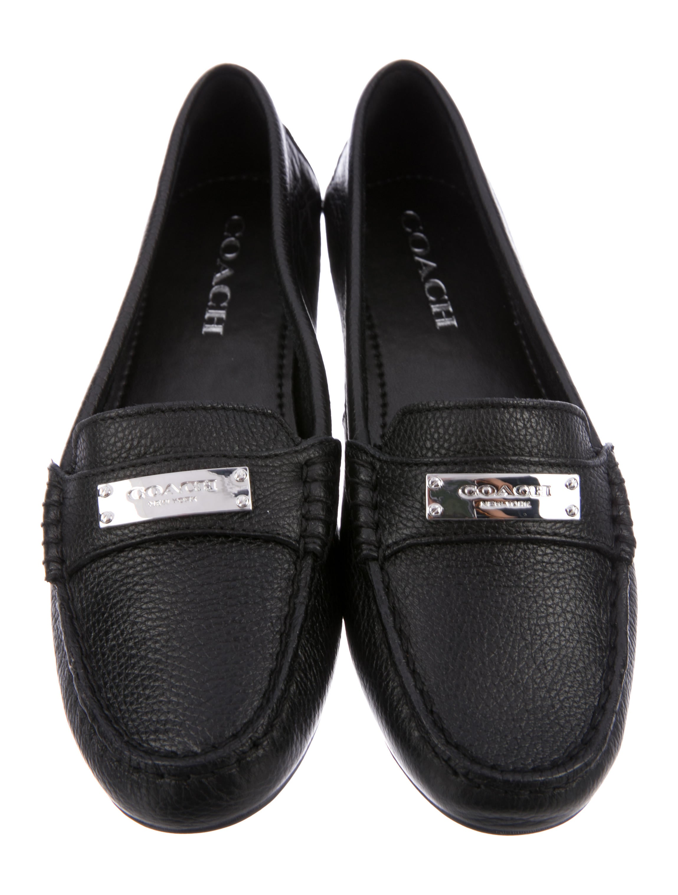 Coach Fredrica Leather Loafers w/ Tags cheap sale comfortable cheap sale with credit card shop for online mkqOAq3wt