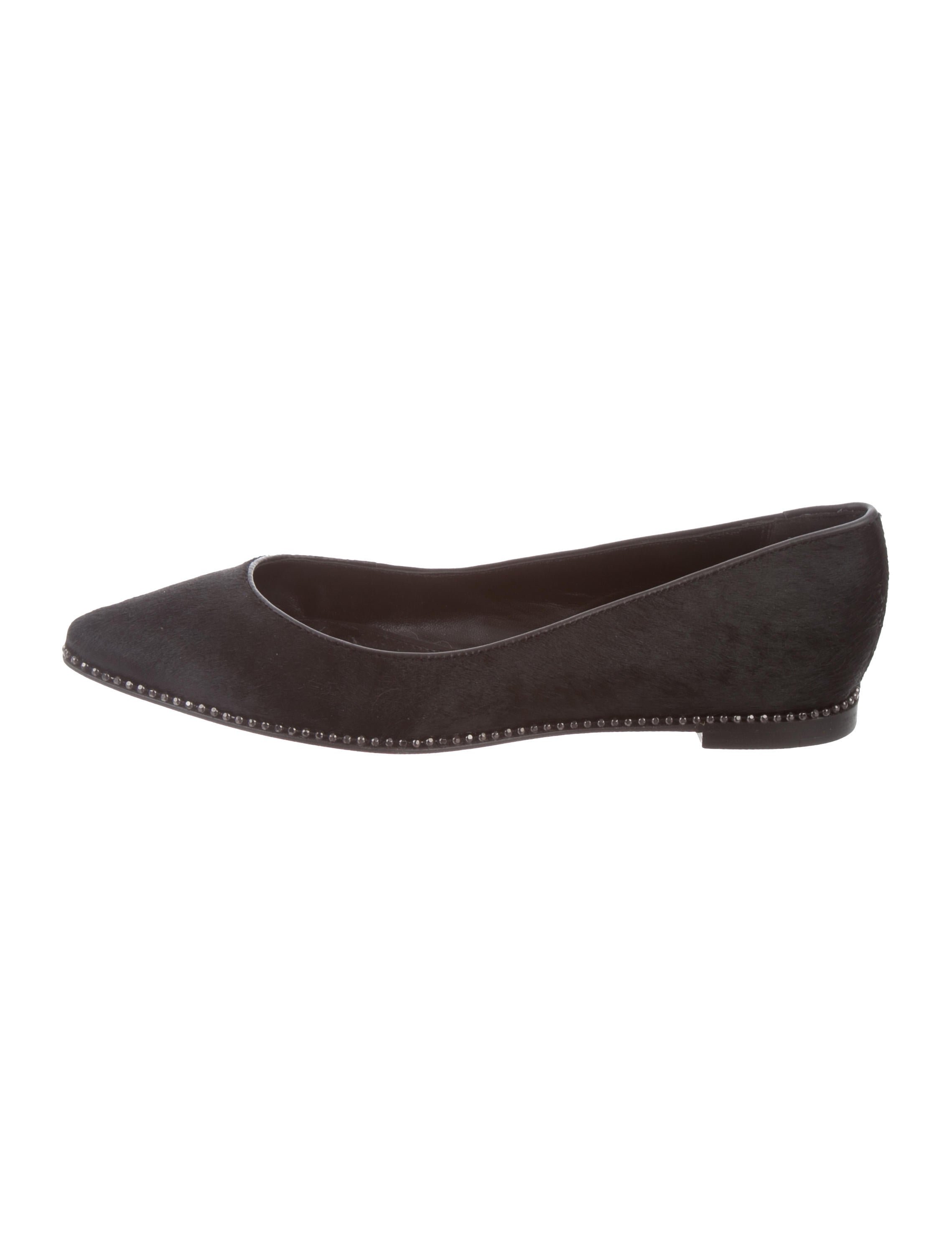 Coach Embellished Ponyhair Flats manchester great sale sale online 100% authentic online discount choice outlet eastbay LZykzIZZlE