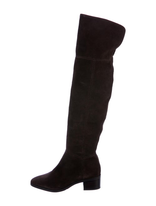 Coach Suede Boots Brown