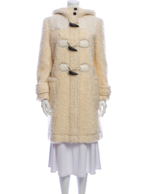 Coach Mohair Faux Fur Coat