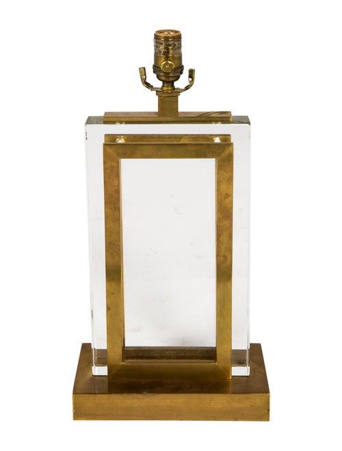 Circa Lighting Crystal Panel Table Lamp