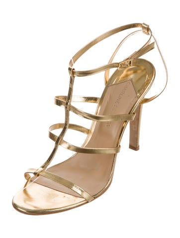 Charline De Luca Metallic Multistrap Sandals outlet real buy cheap largest supplier footaction for sale outlet view free shipping visa payment 4ms0ofgmjI