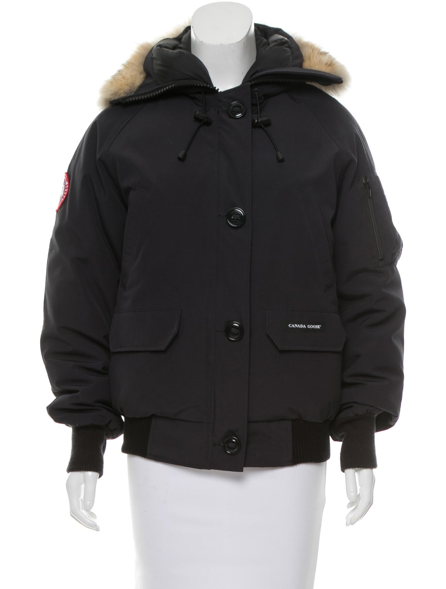 Canada Goose Chilliwack Fur-Trimmed Jacket - Outerwear ...