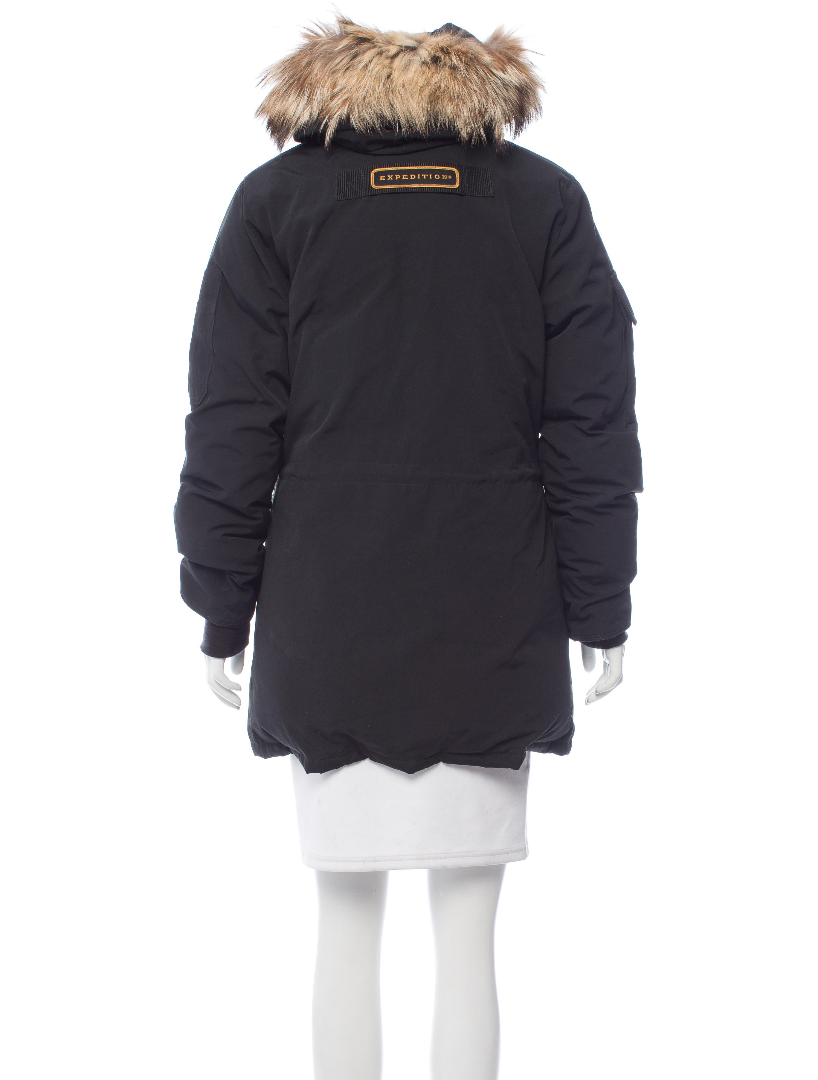 Canada Goose Expedition Fur Accented Parka Clothing