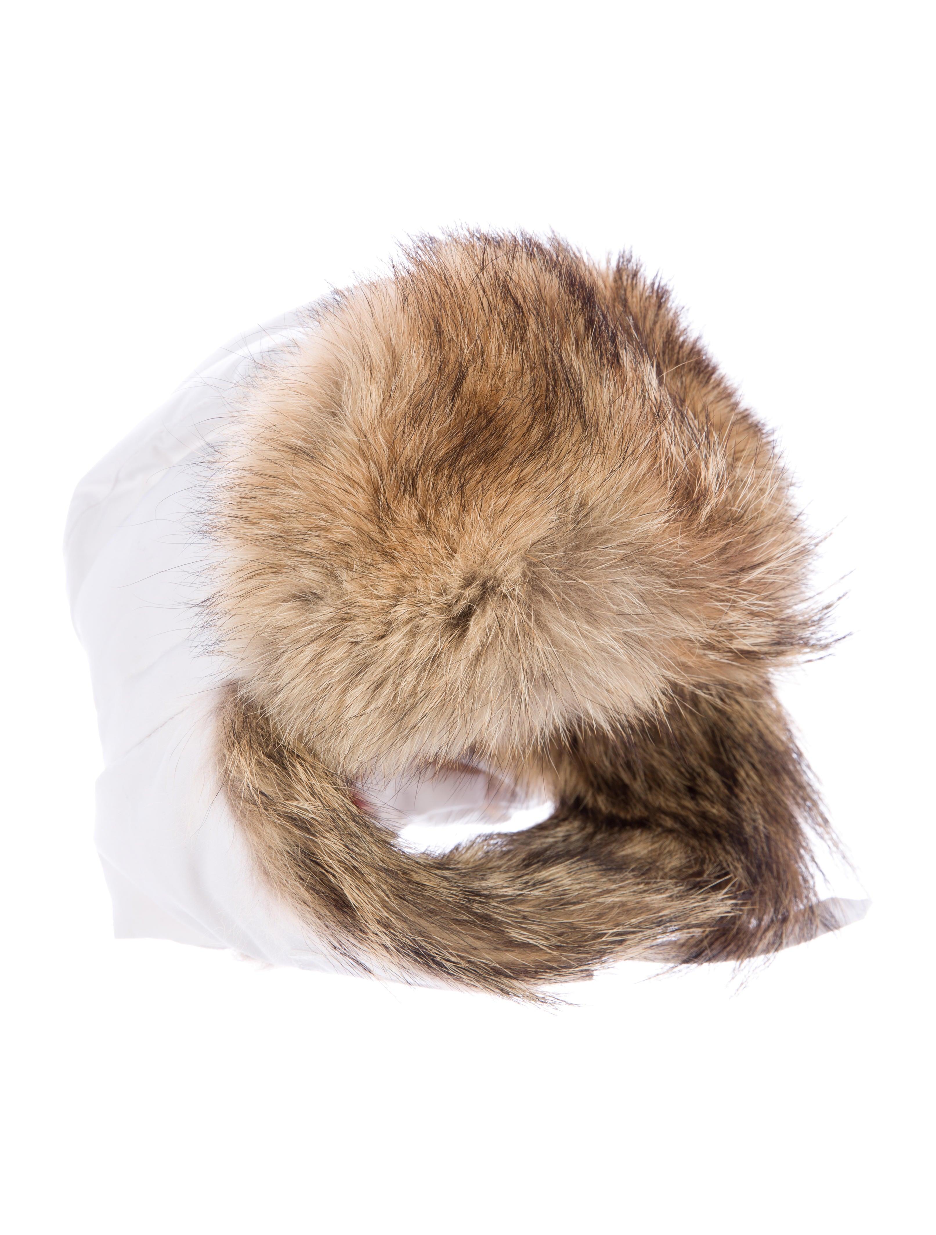 canada goose fur hat