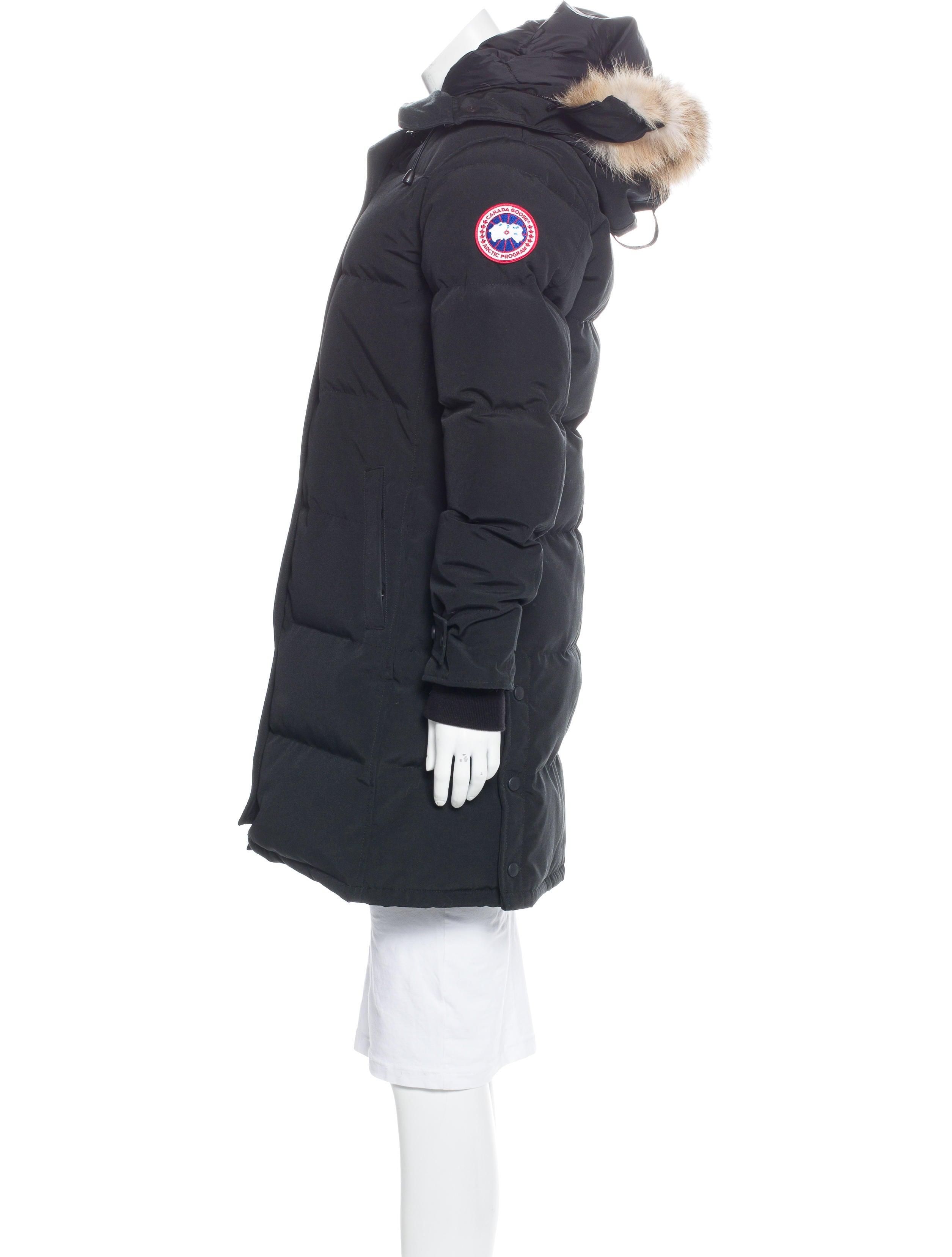 Canada Goose Fur Trimmed Down Coat Clothing Cdo20470
