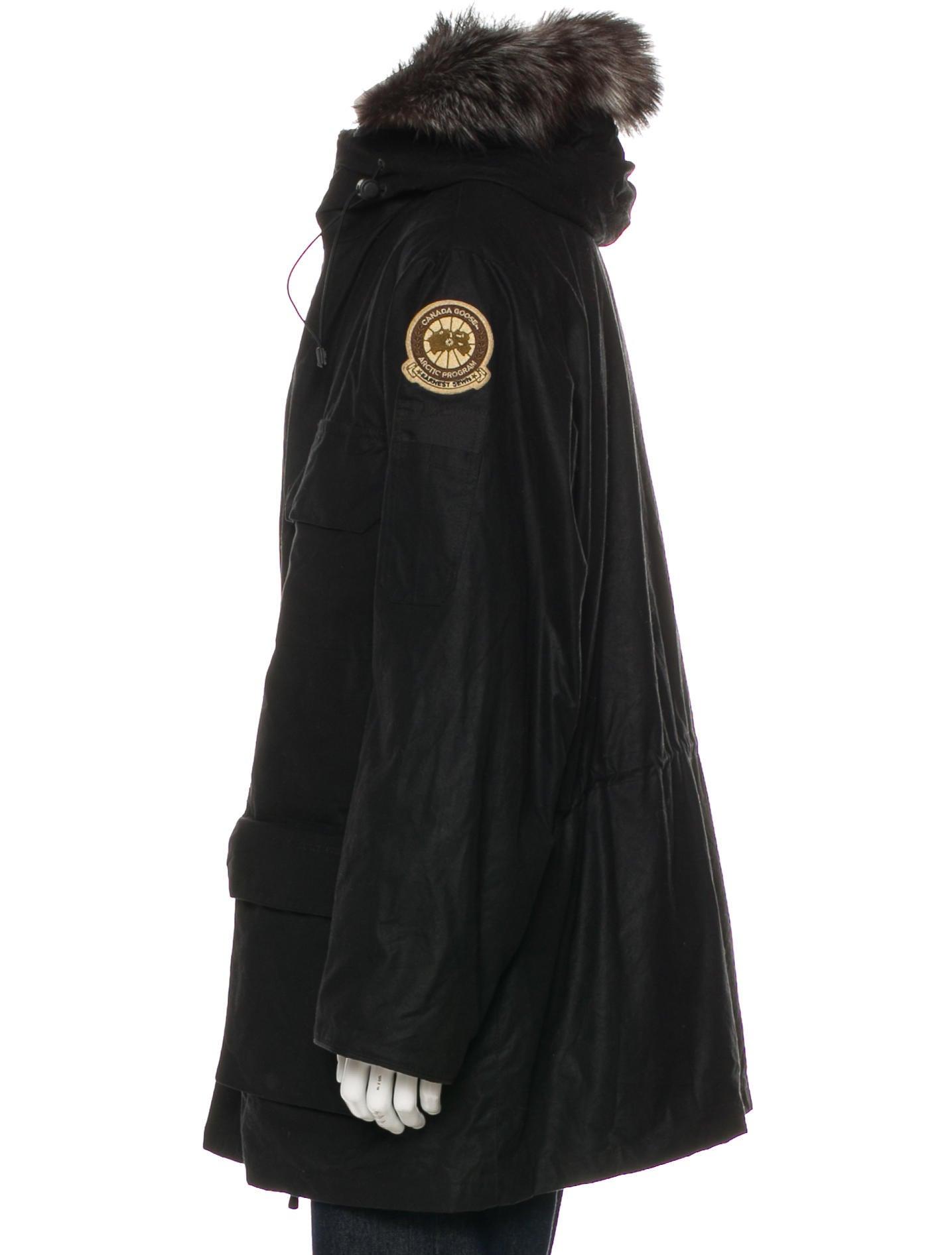 canada goose jacket fox fur