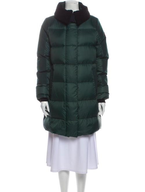 Canada Goose Down Coat Green