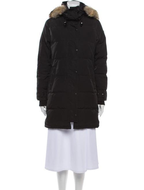 Canada Goose Shelburne Parka Down Coat Black