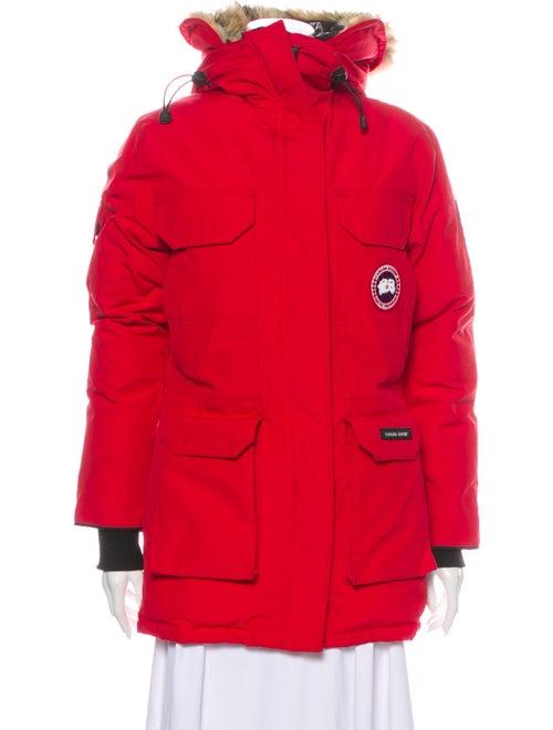 Canada Goose Down Coat Red