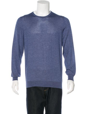 Cesare Attolini Cashmere Crew Neck Sweater None