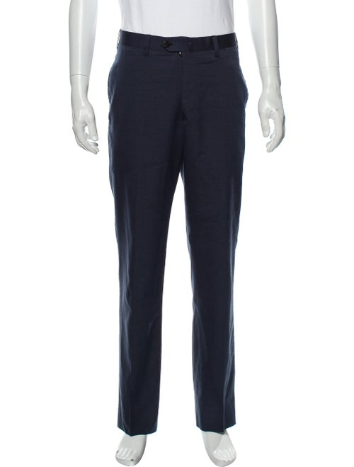 Cesare Attolini Dress Pants Blue