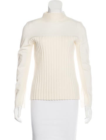 Cédric Charlier Virgin Wool Knit Sweater None