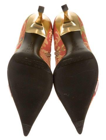 Brocade Boots