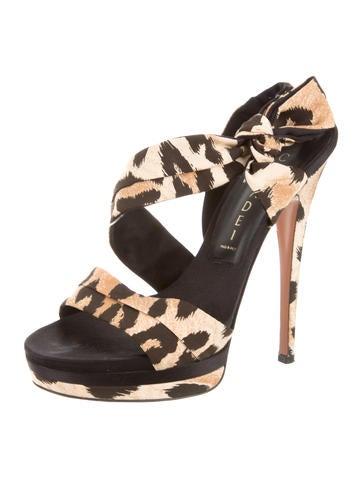 casadei leopard print platform sandals shoes cei21496