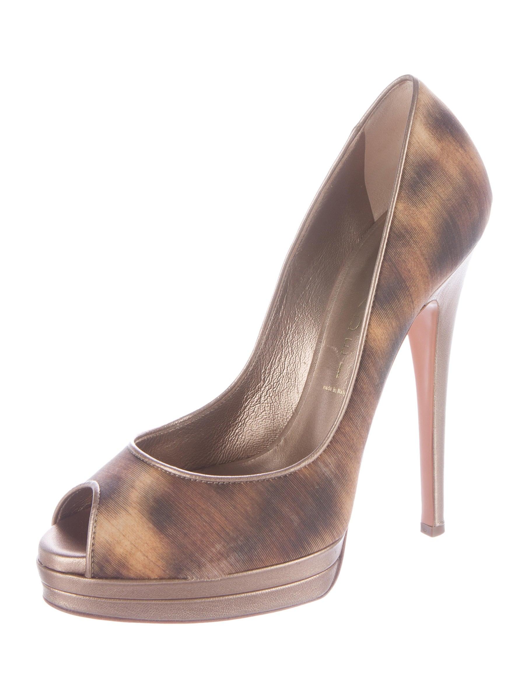 casadei platform peep toe pumps shoes cei22348 the
