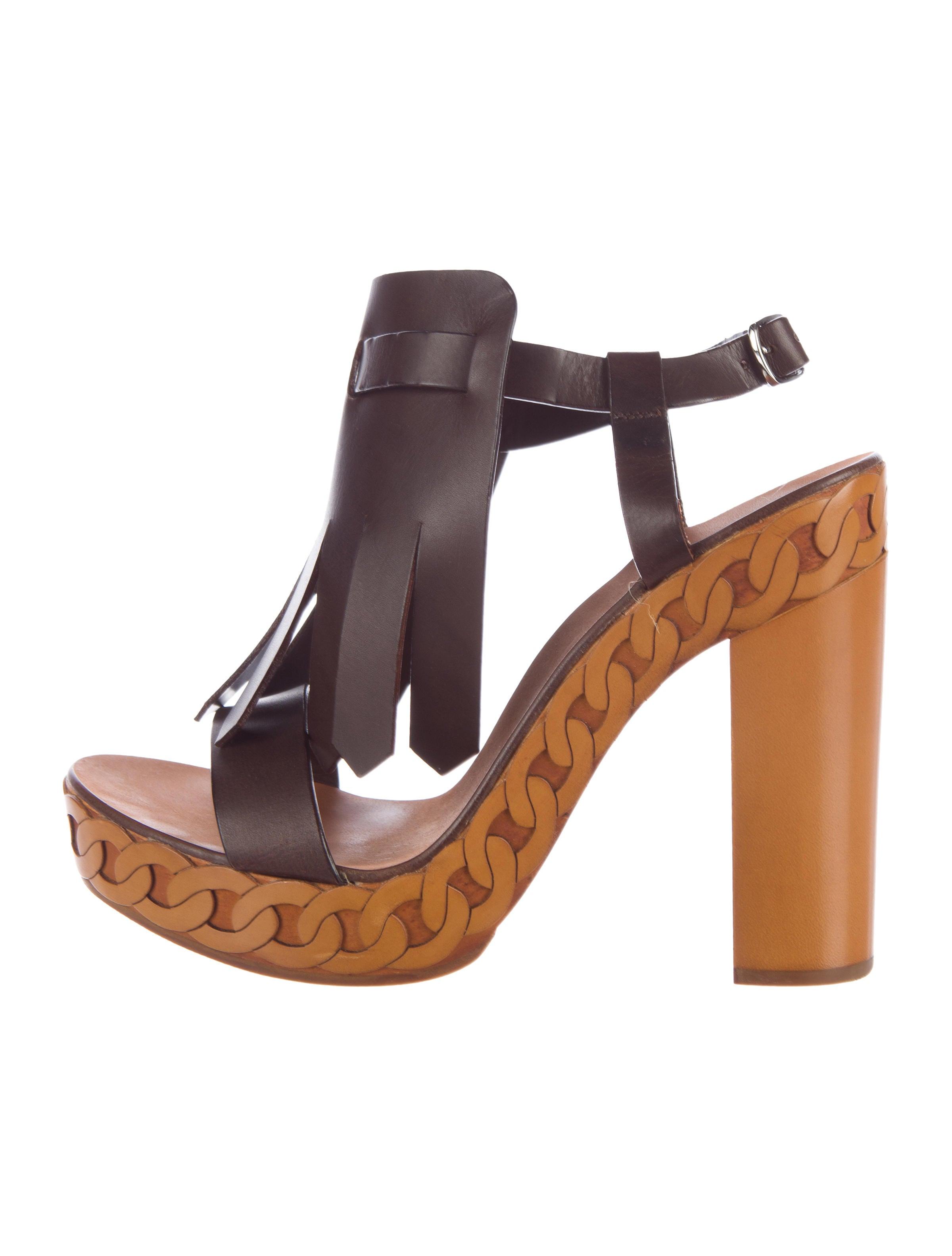 Casadei Kiltie Platform Sandals websites view sale online cheap visit 1AJngD1ux