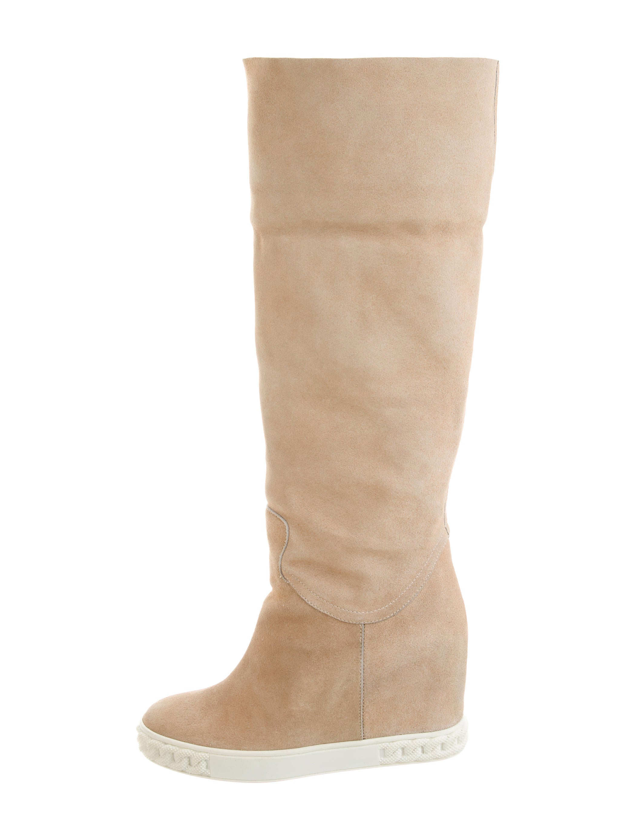 casadei suede wedge boots shoes cei22762 the realreal