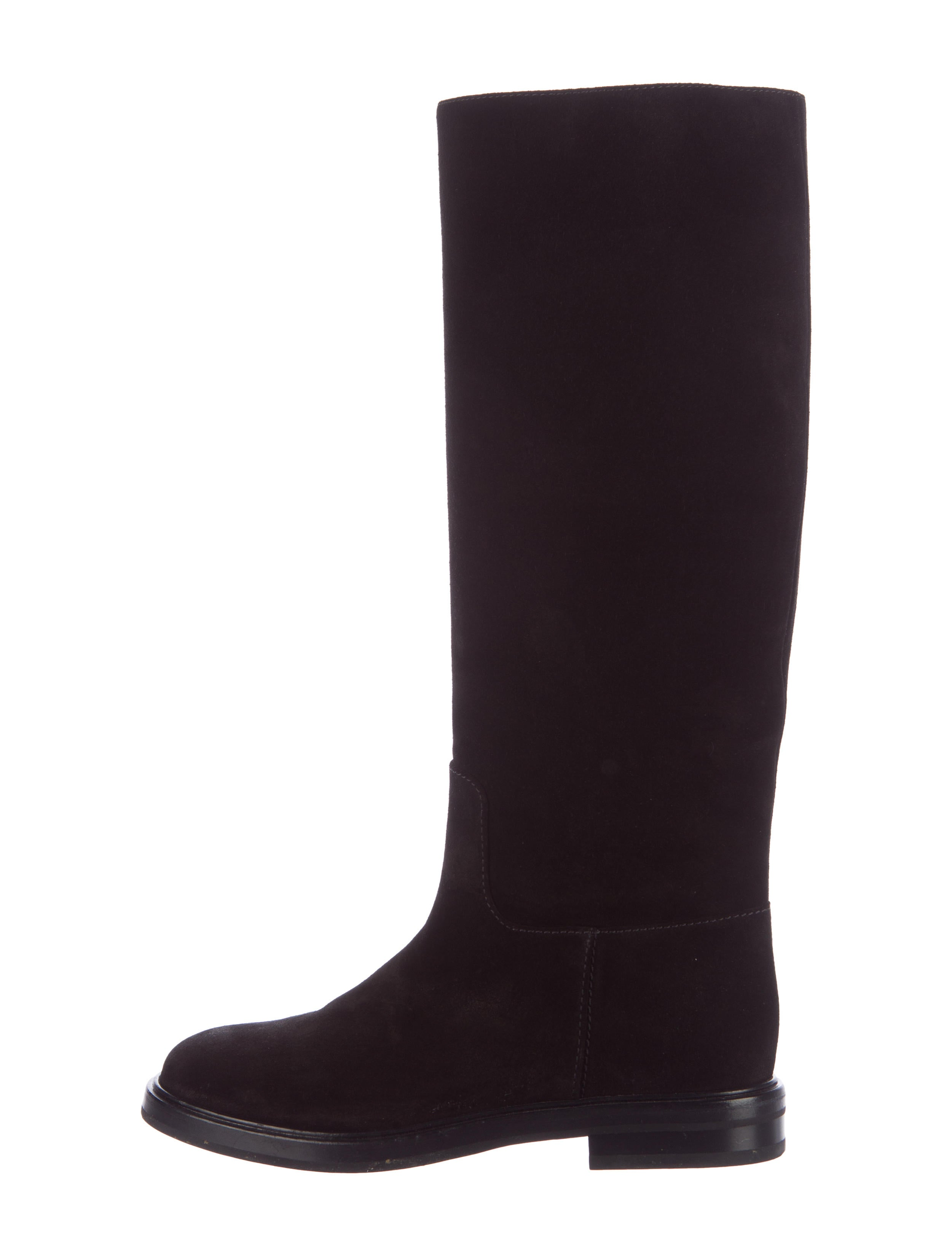 casadei suede toe knee high boots shoes cei22837
