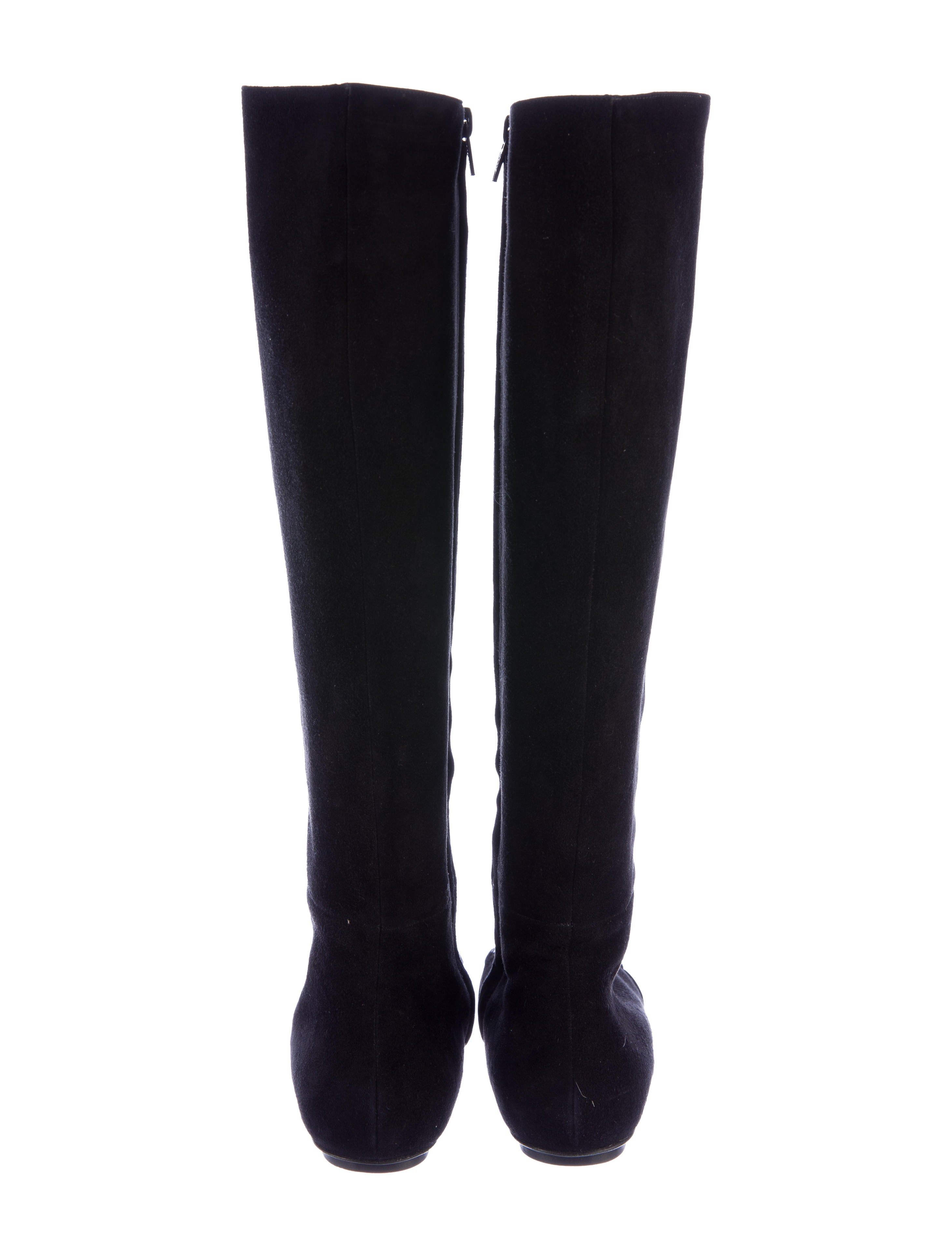 casadei suede knee high boots shoes cei22863 the
