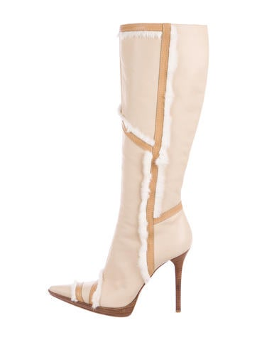 casadei leather knee high boots shoes cei23286 the