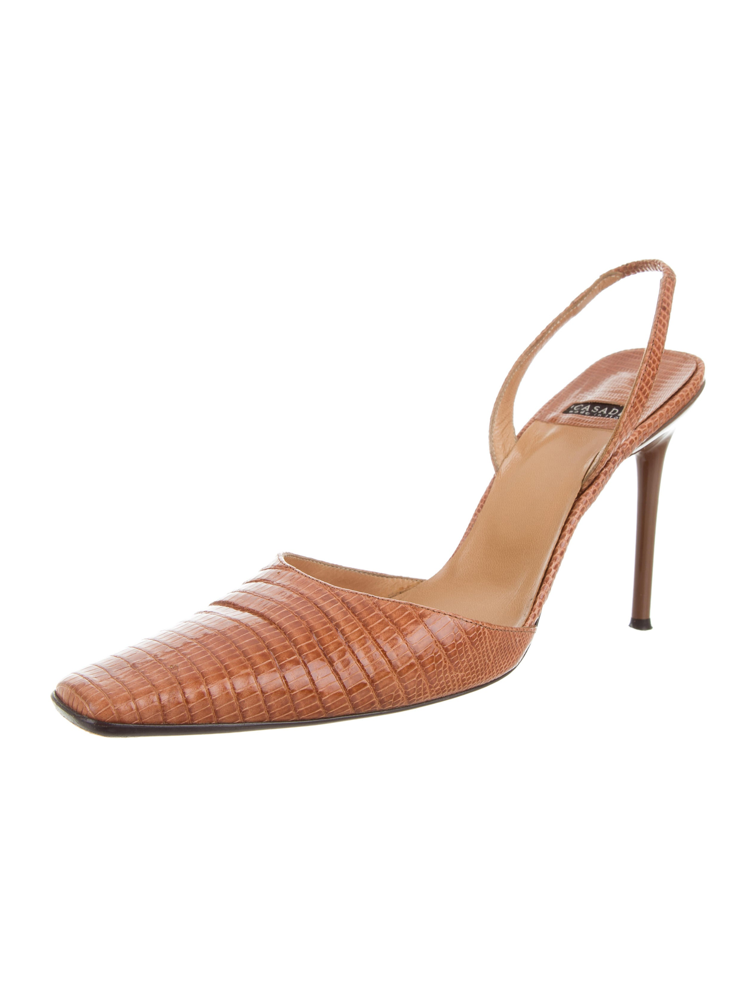 Casadei Lizard Slingback Pumps latest collections cheap price buy cheap wholesale price n3HUBwiP5