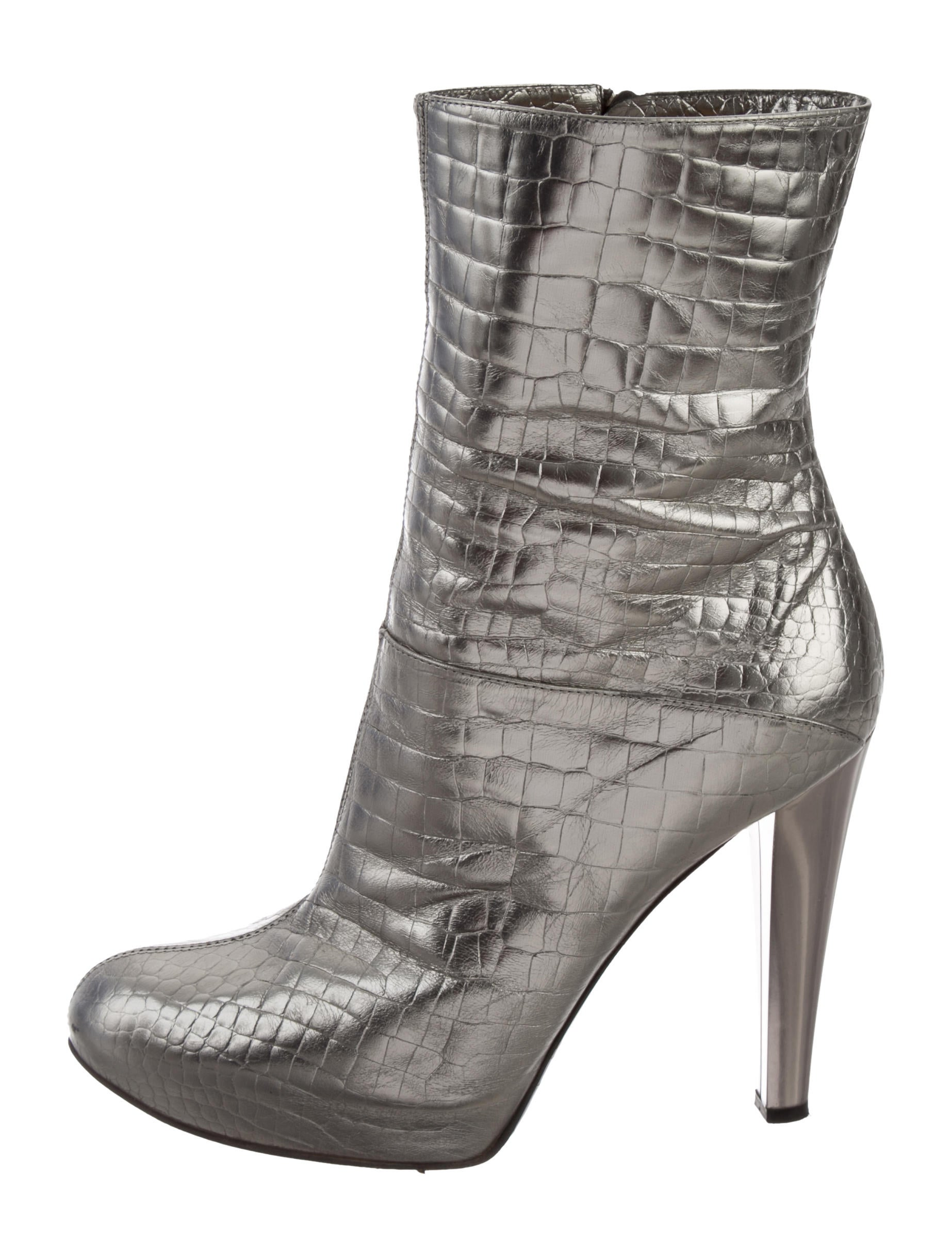 Casadei Embossed Mid-Calf Boots best seller cheap online OlhSTdkye