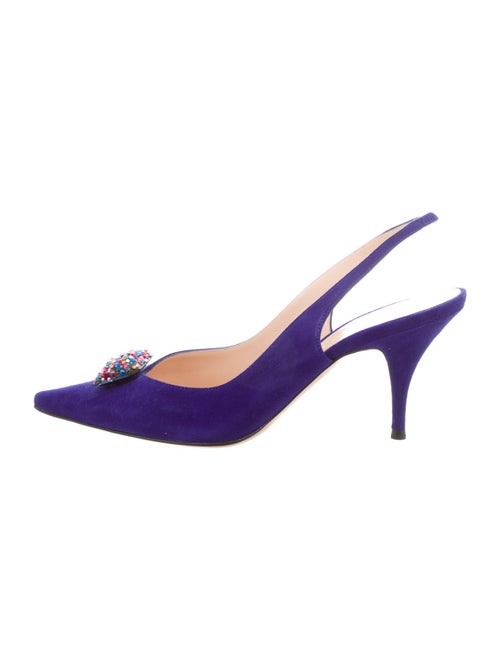 Casadei Slingback Pumps Blue