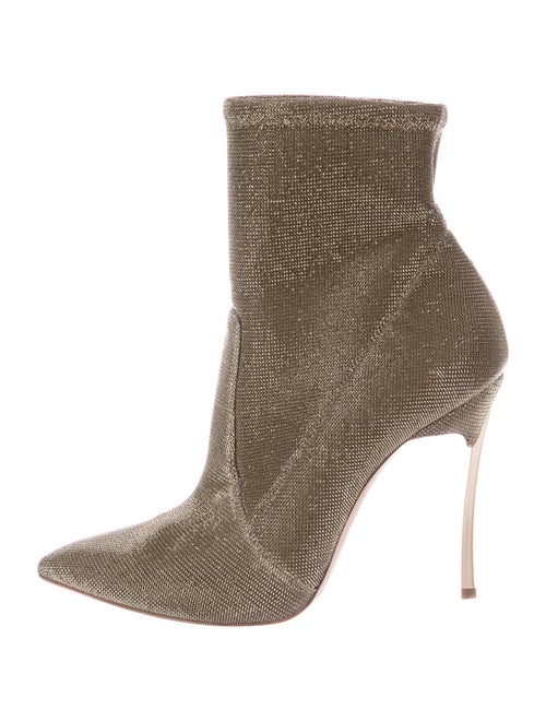 Casadei Sock Boots Gold
