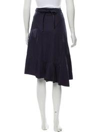 Knee-Length Wrap Skirt image 3