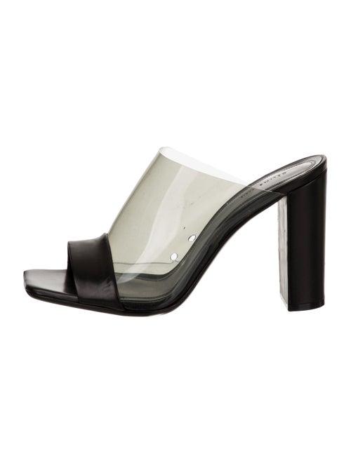 Celine PVC Slide Sandals Clear