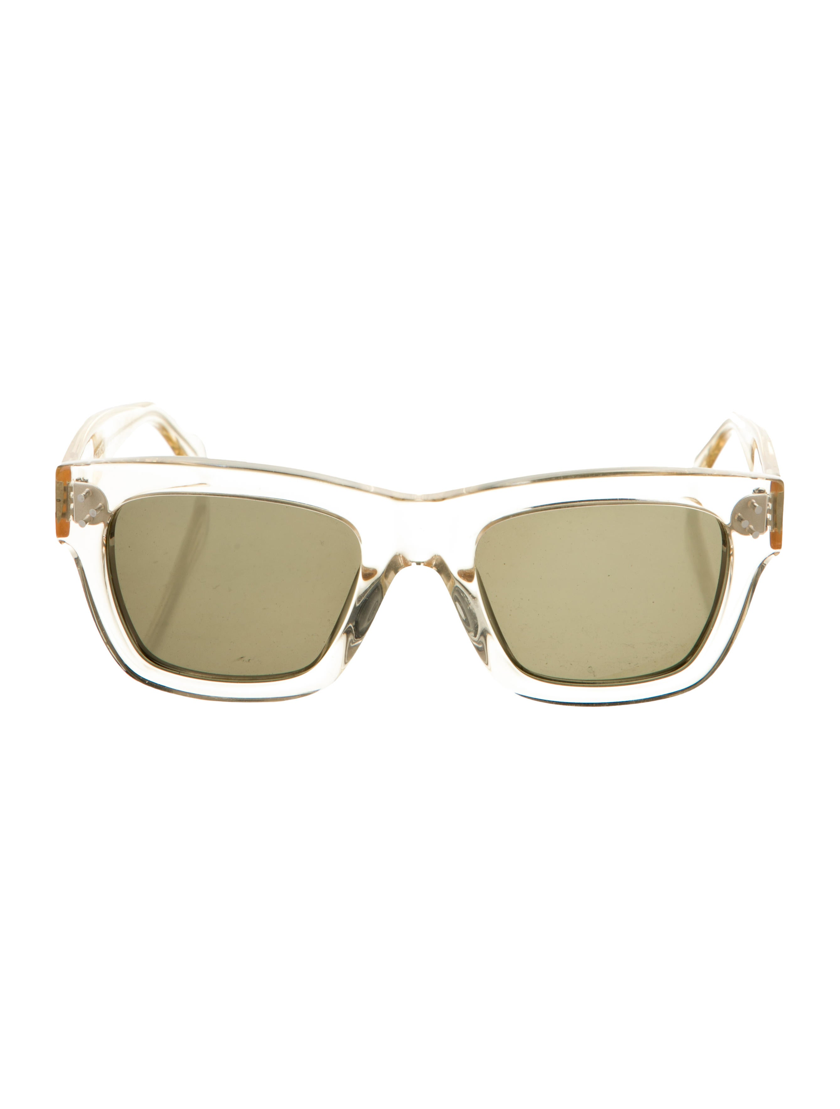 Celine Square Tinted Sunglasses - Accessories -           CEL112055 | The RealReal